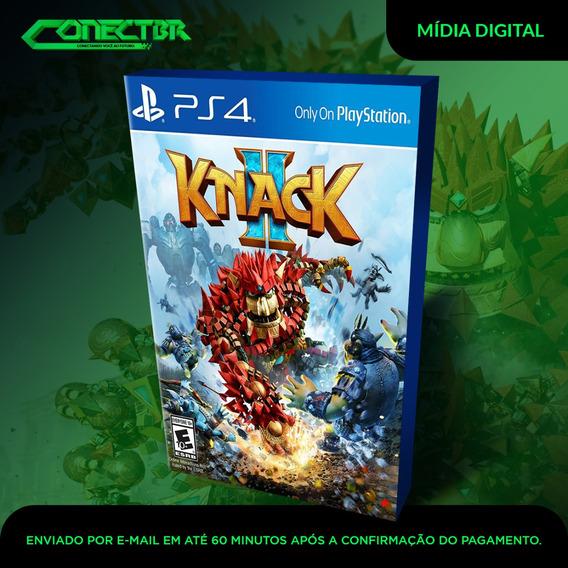Knack 2 Ps4 Psn Jogo Digital Envio Agora!