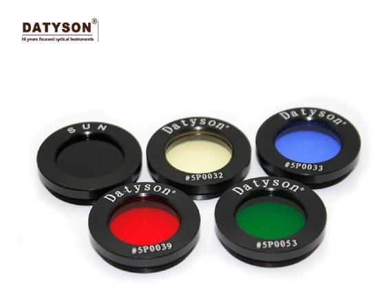 Filtros Datyson Telescópio Refrator Refletor Ocular 1,25