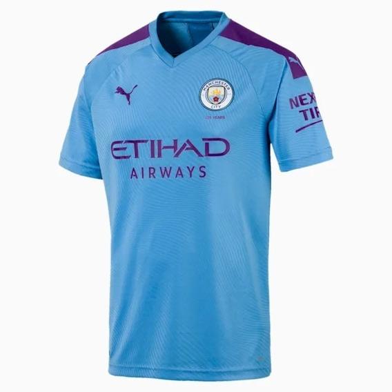 Camiseta Puma Manchester City Home Replica Original Asfl70