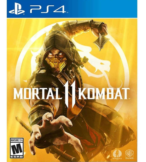 Juego Ps4 Warner Bros Games Mortal Kombat 11
