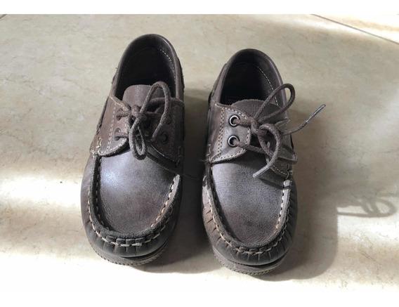 Zapato Mocasín Náutico Mimo T.24 - Hush Puppies T.23 Niños