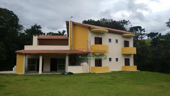 Casa Com 4 Dormitórios À Venda, 500 M² Por R$ 1.700.000 - Rio Preto - Santo Antônio Do Pinhal/sp - Ca1105