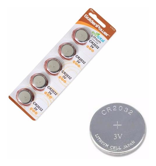 Bateria Controle De Alarme Positron Cr2032 C/com 5 Unidades