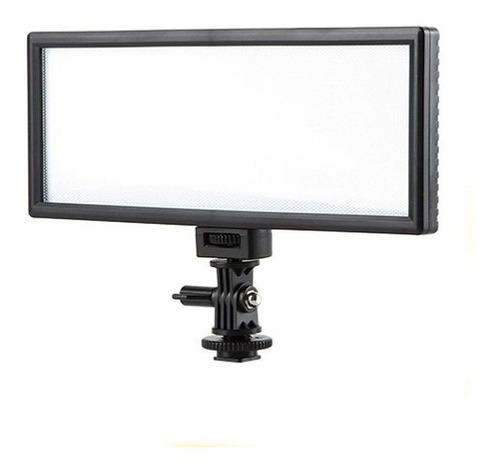 Imagem 1 de 10 de Led Iluminador Ultrawide Viltrox 132 + Bat Carregador Fonte