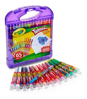 Set Crayola 65 Unidades Mini Crayones Twistables