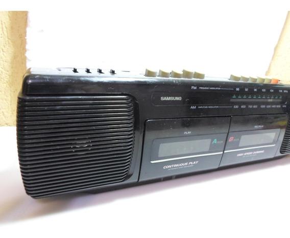 Radio Cassete Recorder Double Sansung Wh-260(ler Anuncio)