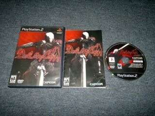 Devil May Cry Completo Para Play Station 2,excelente Titulo