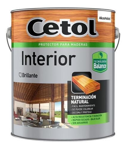 Cetol Interior Balance Brillante 1 Litro Al Agua S/ Olor Mm