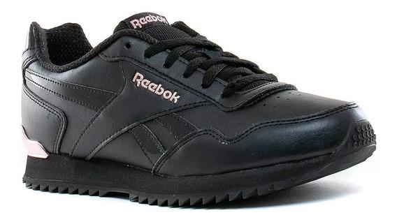 Zapatillas Reebok Royal Glide Ripple Clip Negro Rosa Metal