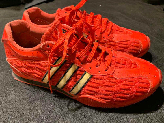 Zapatillas adidas Mujer Rojas !