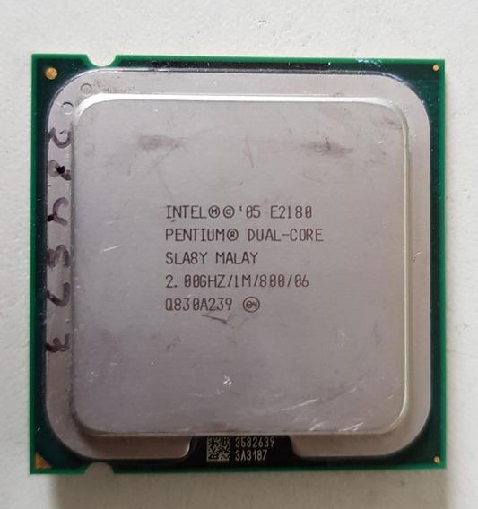 Processador Intel Dual Core E2180 2.00ghz Usada Ref: 01516
