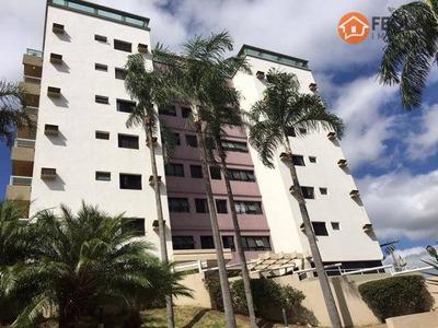 Apartamento Com 3 Dormitórios Para Alugar, 130 M² Por R$ 1.400/mês - Santo Antônio - Americana/sp - Ap0298