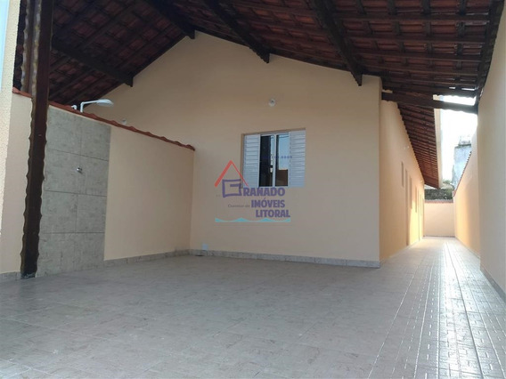 Casa Em Mongaguá Perto Da Praia, Utilize Seu Fgts, Financie