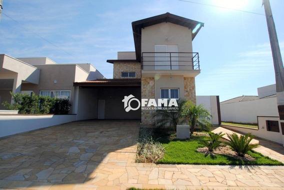 Casa Com 3 Dormitórios À Venda, 195 M² - Condomínio Terras Do Fontanário - Paulínia/sp - Ca0164