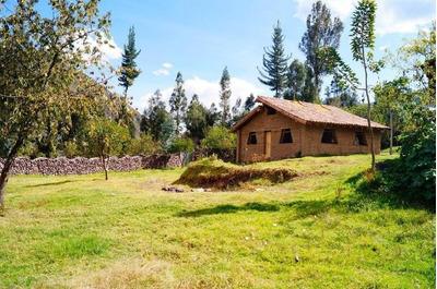 Precioso Terreno Con Casa De Campo En Cusco Valle Sagrado