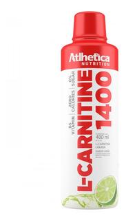 Atacado: 3x L-carnitina 1400 480ml - Athletica - Carnitine