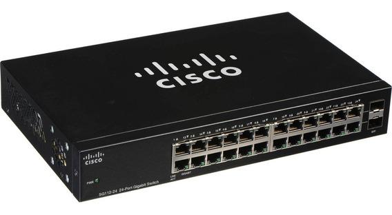 Switch Cisco 24 Puertos Gigabit Rack 10/100/1000
