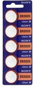 Bateria/pilha Para Óculos 3d - Cr2025 Sony - C/15 Unid