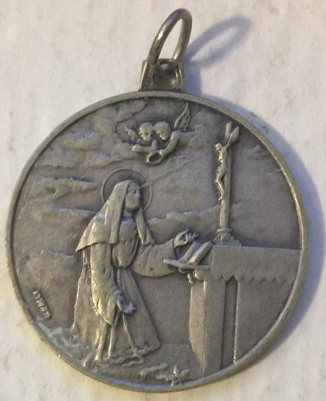 Medalla Consagracion Altar Santa Rita De Casia La Rioja