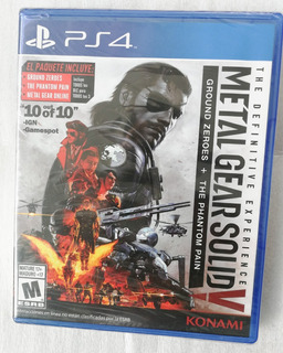 Metal Gear Solid V The Definitive Experience Ps4 Juego
