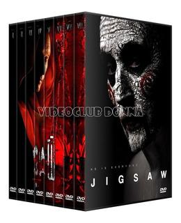 El Juego Del Miedo Saw Saga 8 Peliculas Colección Dvd Jigsaw