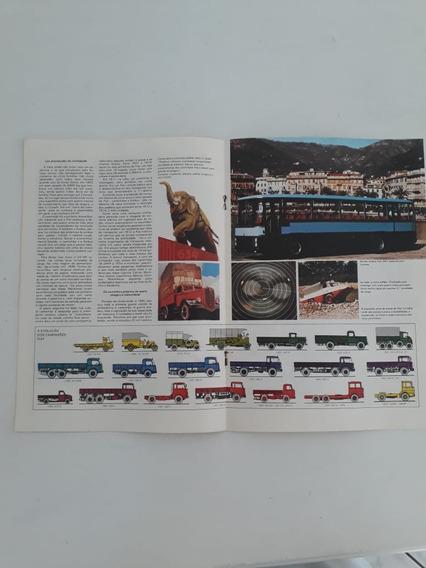 Livreto Matéria Reportagem História Linh Fiat 634 N 170 343