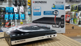 Dvd Player Mondial Usb Mp3 Karaoke - D-15