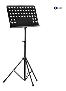 Suporte Partitura Maestro Cavalete Pedestal Estante Ferro