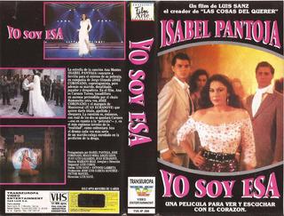 Yo Soy Esa Vhs Isabel Pantoja José Coronado 1990