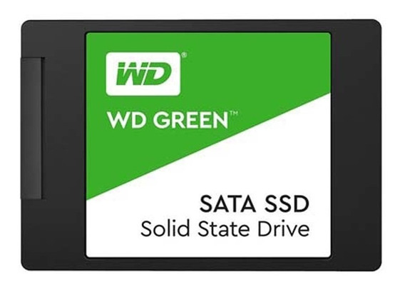 Ssd Green 120gb 2,5 Sata Wds120g2g0a - Western Digital