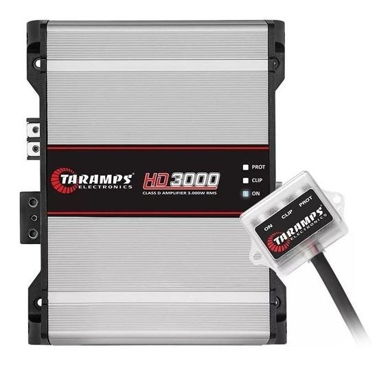 Modulo Amplificador Taramps Potencia Hd 3000 1 Canal 2 Ohms