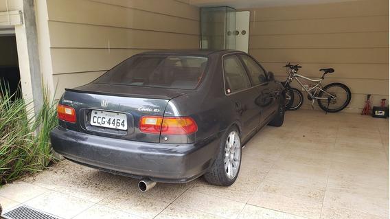 Civic Ex 4p 1995 Motor Desmontado, P/ Quem Quer Montar 5.000