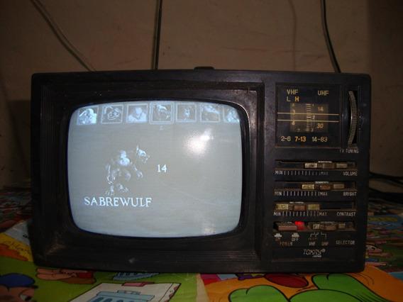 Tv Portátil Tokay Tvr-560 Funciona Sem Entrada Av