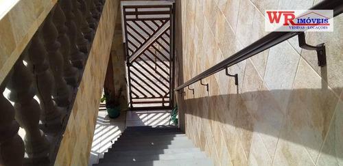 Imagem 1 de 22 de Sobrado À Venda, 267 M² Por R$ 585.000,00 - Parque Selecta(montanhão) - São Bernardo Do Campo/sp - So0756