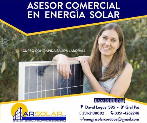 Inscripción Al Curso Asesor Comercial En Energía Solar