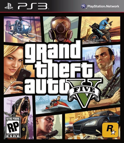 Gta 5 Ps3 Grand Theft Auto V Ps3 - Português - Psn Digital
