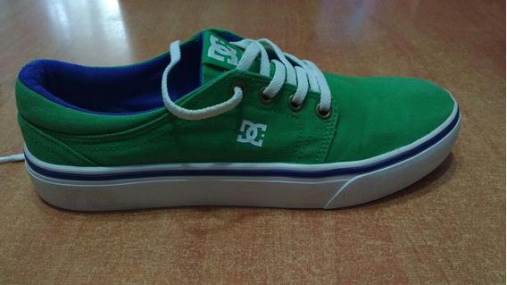 Zapatillas Dc Trase Tx Verdes