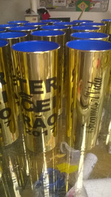 55 Copos Long Drink Metalizados Personalizados Aniversário