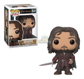 Boneco Funko Pop O Senhor Dos Anéis - Aragorn 531