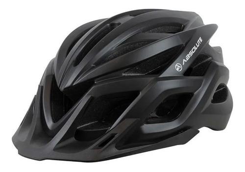 Capacete Ciclismo Absolute Flash Mg Bike Mtb Speed Preto