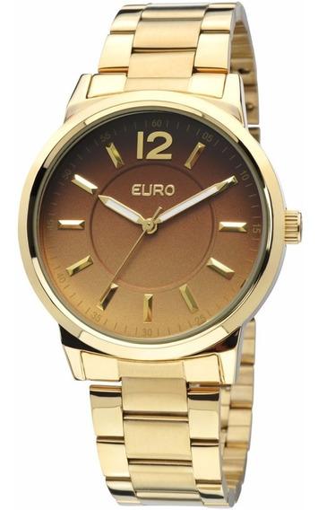 Relogio Euro Feminino Eu2035lqw/4c Dourado