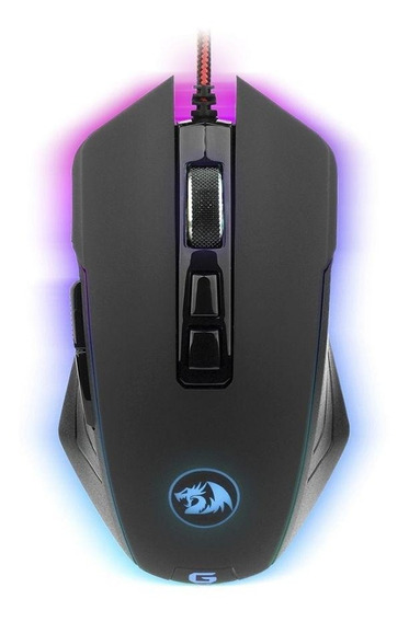 Mouse Gamer Redragon Dagger 10000dpi Com Fio Pronta Entrega
