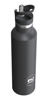 Botella Psa Térmica | Negro | Frío - Calor -750 Ml