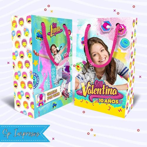 Bolsitas Sorpresitas Cumpleaños Soy Luna Y Otros Pack 15 Uni