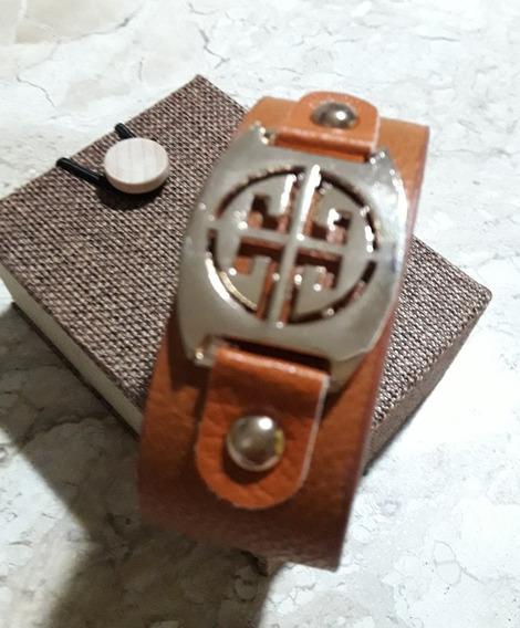Bracelete Estilo Tory Burch