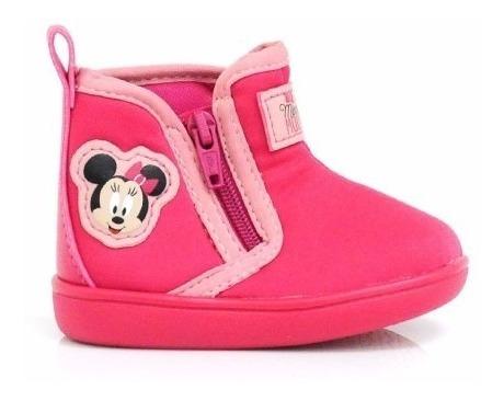 Bota Infantil Feminina Disney Minnie