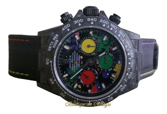 Relógio Eta - Modelo Daytona Diw Motley Carbon - Exclusivo