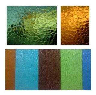 Vidrio Color, Para Reposición Y Recortes Al Peso.