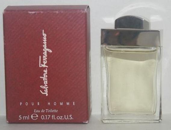 Miniatura De Perfume: Salvatore Ferragamo Pour Homme - 5 Ml