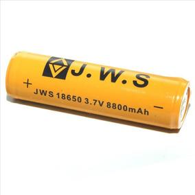 Kit 2 Bateria Lítio 18650 3.7v 9.6wh 8800mah Recarregável
